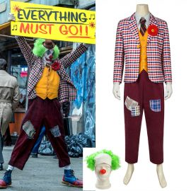 2019 Movie Joker Arthur Fleck Cosplay Costume