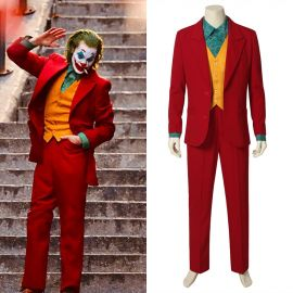 2019 Movie Joker Cosplay Costume Suit