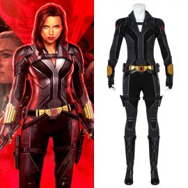 2020 Black Widow Natasha Romanoff Cosplay Costume