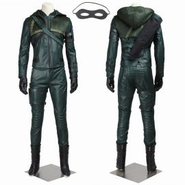 Arrow 3 Oliver Queen Green Arrow Cosplay Costume