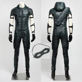 Arrow 4 Oliver Queen Green Arrow Cosplay Costume
