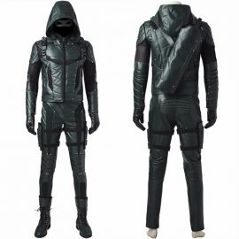 Arrow 5 Oliver Queen Green Arrow Cosplay Costume