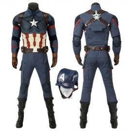 Avengers Endgame Captain America Cosplay Costume Deluxe
