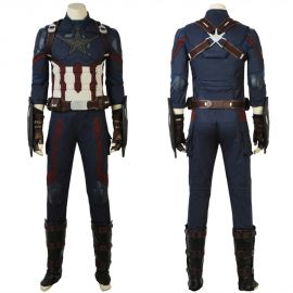 Avengers Infinity War Captain America Cosplay Costume