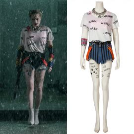 Birds of Prey: Harley Quinn Cosplay Costume Short Version