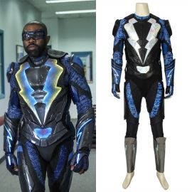 Black Lightning Jefferson Pierce Cosplay Costume