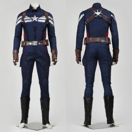 Captain America 2 Steve Rogers Cosplay Costume Deluxe