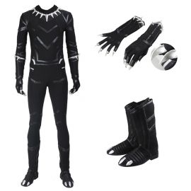 Civil War Black Panther T'Challa Costume