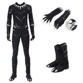 Civil War Black Panther T'Challa Costume