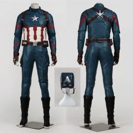 Civil War Captain America Cosplay Costume Deluxe