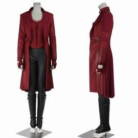 Civil War Scarlet Witch Costume Wanda Cosplay Costume
