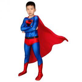 Crisis on Infinite Earths Superman Clark Kent 3D Kids Jumpsuit