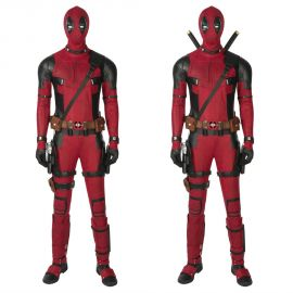 Deadpool 1 Cosplay Costume Deluxe Fullset