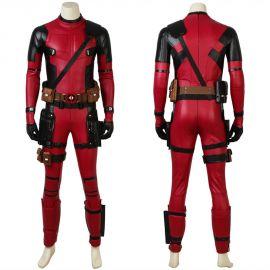 Deadpool 2 Costume Wade Wilson Cosplay Costume Deluxe
