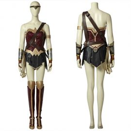 Diana Prince Wonder Woman Cosplay Costume Soft Material