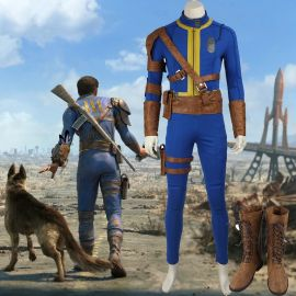 Fallout 4 Sole Survivor Nate Cosplay Costume