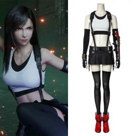 Final Fantasy VII PS4 Game Tifa Lockhar Cosplay Costume