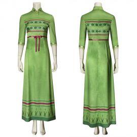 Frozen 2 Anna Cosplay Nightgown Dress