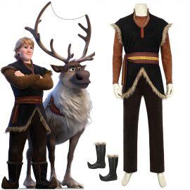 Frozen 2 Kristoff Cosplay Costume