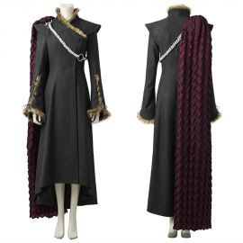 Game of Thrones 7 Daenerys Targaryen Cosplay Costume Outfit