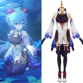 Genshin Impact Ganyu Cosplay Costume