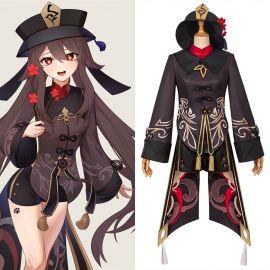 Genshin Impact Hu Tao Cosplay Costume