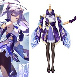 Genshin Impact Keqing Cosplay Costume