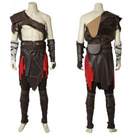God of War 4 Kratos Cosplay Costume Deluxe
