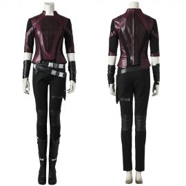 Guardians of the Galaxy 2 Gamora Cosplay Costume Short Outfit