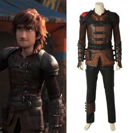 How to Train Your Dragon 3 Hiccup Cosplay Costume Deluxe