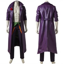 Injustice 2 Joker Cosplay Costume Outfit