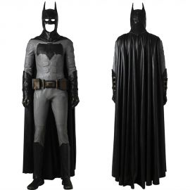 Justice League Batman Cosplay Costume Bruce Wayne Costume