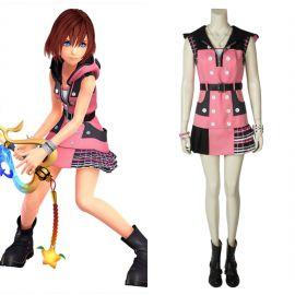 Kingdom Hearts III Kairi Cosplay Costume