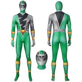 KISHIRYU SENTAI RYUSOULGER Green Solider Cosplay Suit
