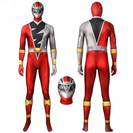 KISHIRYU SENTAI RYUSOULGER Red Solider Cosplay Suit