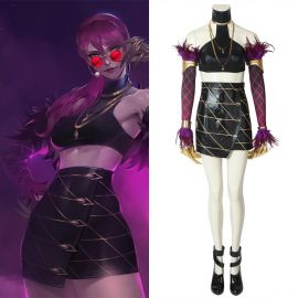 League of Legends LOL KDA Evelynn Cosplay Costume