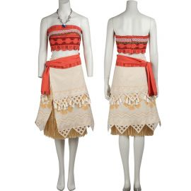 Moana Princess Cosplay Costume Dress