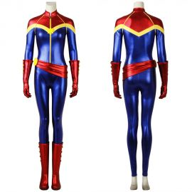 Ms. Marvel Cosplay Costume Heroine Costume