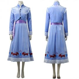 Olaf's Frozen Adventure Anna Cosplay Costume