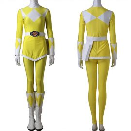 Power Rangers Tiger Ranger Cosplay Costume