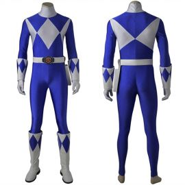 Power Rangers Tricera Ranger Cosplay Costume