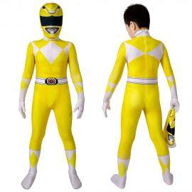 Power Rangers Trini Kwan Yellow Ranger Kids 3D Jumpsuit