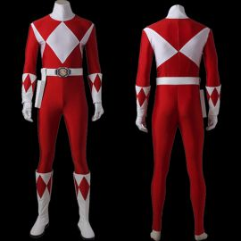 Power Rangers Tyranno Ranger Geki Cosplay Costume