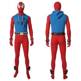 Scarlet Spider Ben Reilly Cosplay Costume