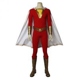 Shazam Cosplay Costume Billy Batson Costume