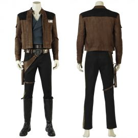 Solo: A Star Wars Story Han Solo Cosplay Costume
