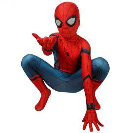 Spider-Man Classic Kids 3D Zentai Jumpsuit