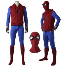 Spider-Man: Homecoming Spiderman Cosplay Costume