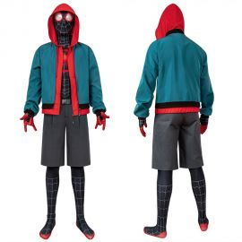 Spider-Man Into the Spider-Verse Miles Morales Cosplay Suit