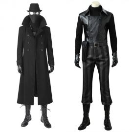 Spider-Man: Into the Spider-Verse Spiderman Noir Cosplay Costume